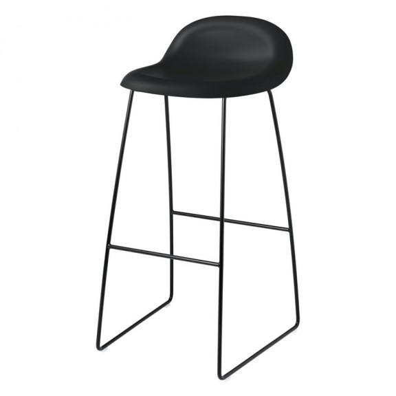 GUBI 3D barstol - Sledge base