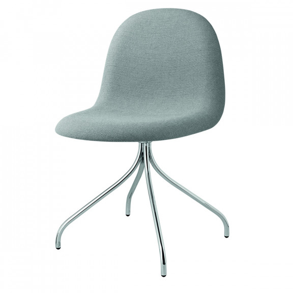 GUBI 3D Dining Chair fuldpolstret - Swivel Base