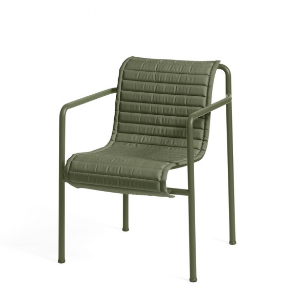 HAY Palissade Dining Armchair - quiltet hynde