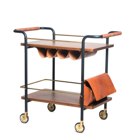 Valet Bar Cart - Stellar Works
