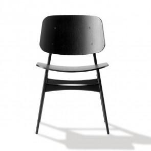 Søborg stol - Model 3050 (ben i sortlak eg)