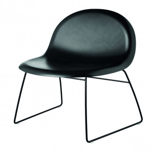 GUBI 3D Lounge Chair - sledge base