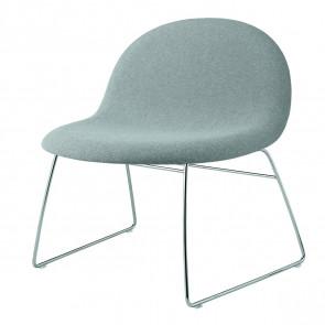 GUBI 3D Lounge Chair fuldpolstret - sledge base