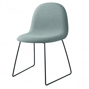 GUBI 3D Dining Chair fuldpolstret - sledge base