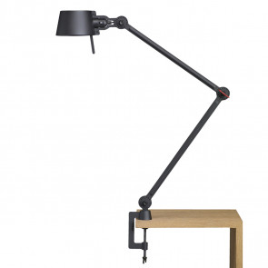 Bolt desk lampe med dobbelt arm / klemme