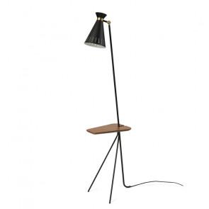 Cone gulvlampe med bord - Warm Nordic