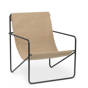 Ferm Living Desert Lounge Chair - Solid Cashmere