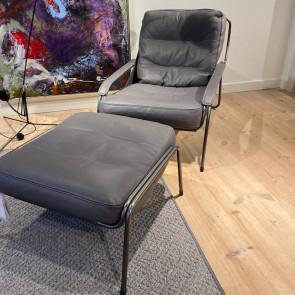 Udstillingsmodel - Maggiolina stol inkl. skammel