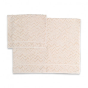 Missoni håndklæde - Rex 21 creme
