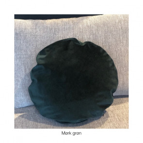 Velour puder ø 45 cm *flere farver