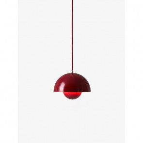 Flowerpot VP1 pendel Deep red