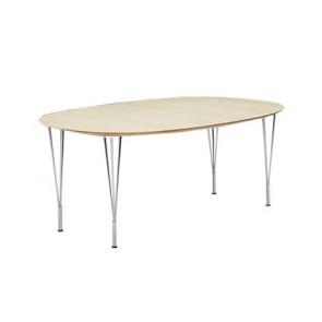 Zeta spisebord - Fast bordplade