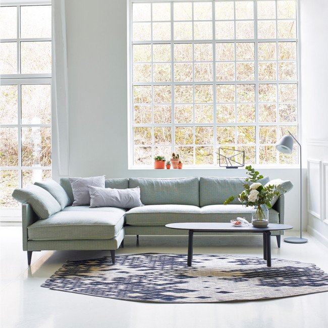 Ej 295 sofa med chaiselong for U sofa med chaiselong