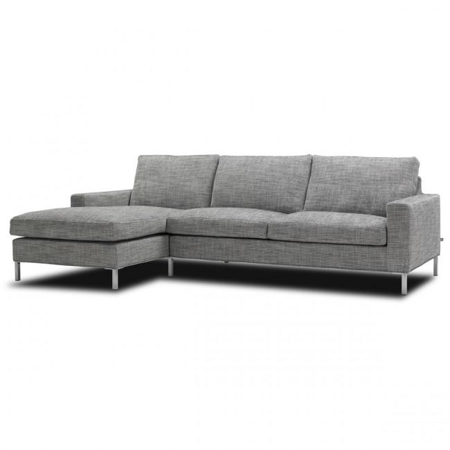 Odense sofa med chaiselong p kampagnetilbud for U sofa med chaiselong