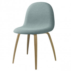 GUBI 3D Dining Chair Fuldpolstret - Wood base