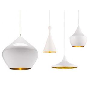 Beat lampe - Hvid