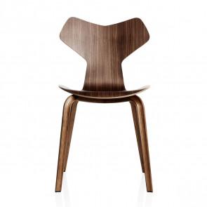Grand prix stol valnød træben