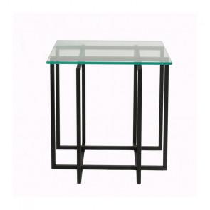 Kvartet 45 sidebord - glas