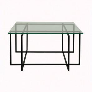 Kvartet 80 sofabord - glas